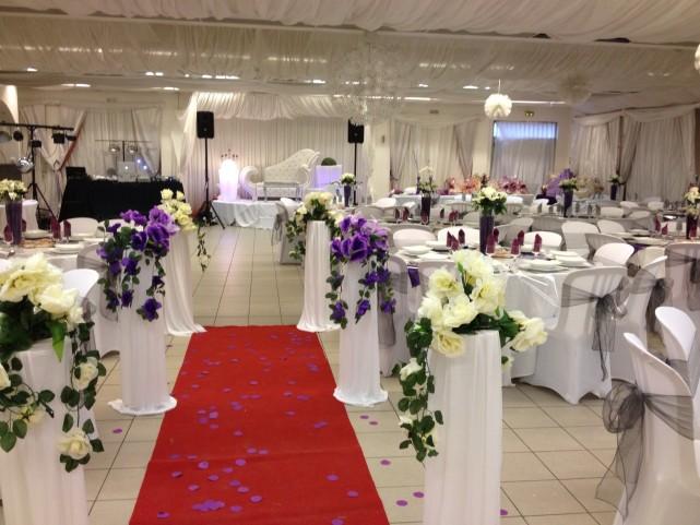 trouver une salle de réception et de mariage